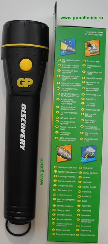 Lanterna L004 Discovery GP Batteries