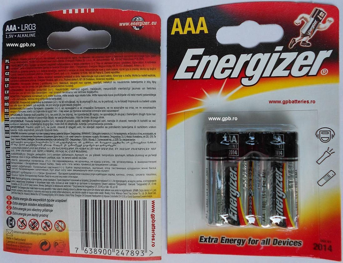 Baterie AAA LR3 Energizer