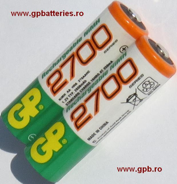Acumulator Ni-MH AA R6 2700 GP Batteries