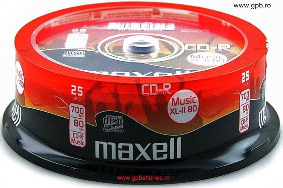 CD Recordable Maxell 628529 Music XL-II 80