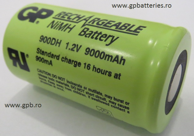 Acumulator industrial Ni-MH GP Batteries 900DH
